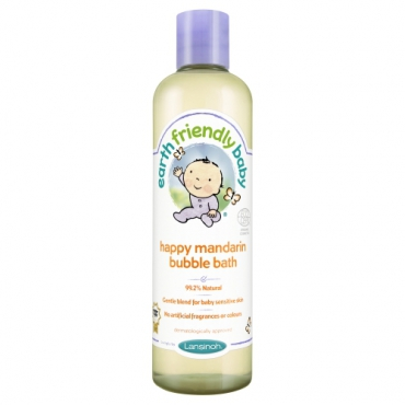 Spuma de baie mandarine, Earth Friendly Baby