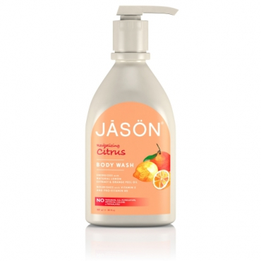 Gel de dus satinat, cu citrice,  900ml, Jason