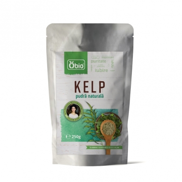 Kelp pulbere raw 250g