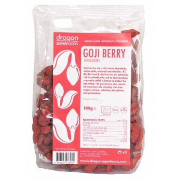 Goji berries raw bio 100g