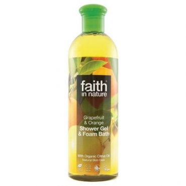 Faith - Gel de dus cu Grapefruit si Portocale - 400 ml