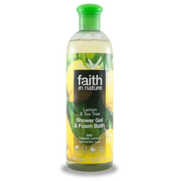 Faith - Gel de dus cu Lamaie si Tea Tree - 400 ml