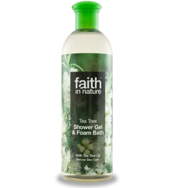 Faith - Gel de dus cu Tea Tree - 400 ml