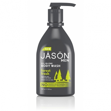 Sampon si gel de dus pentru barbati  All-in-One - Jason - 887 ml