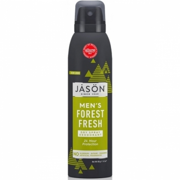 Deodorant spray pt. barbati, protectie 24h, Forest Fresh, Jason, 90 g