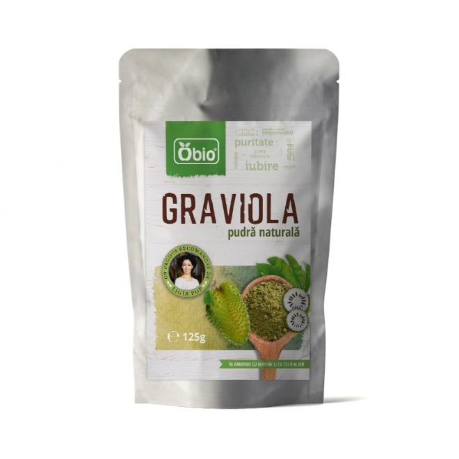 Graviola pulbere raw 125g