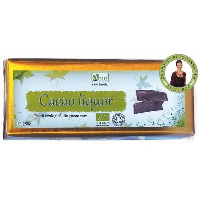 Cacao liquor raw bio 250g