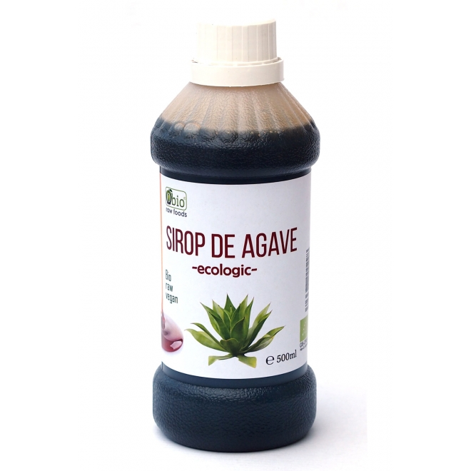 Sirop de agave dark raw bio 500ml