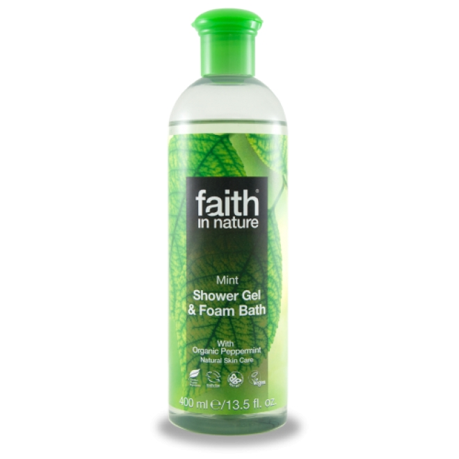 Faith - Gel de dus cu Menta - 400 ml