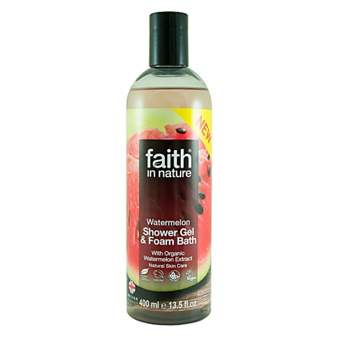 Faith-Gel de dus cu Pepene, 400 ml